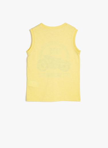 Koton Kids Atlet Sarı